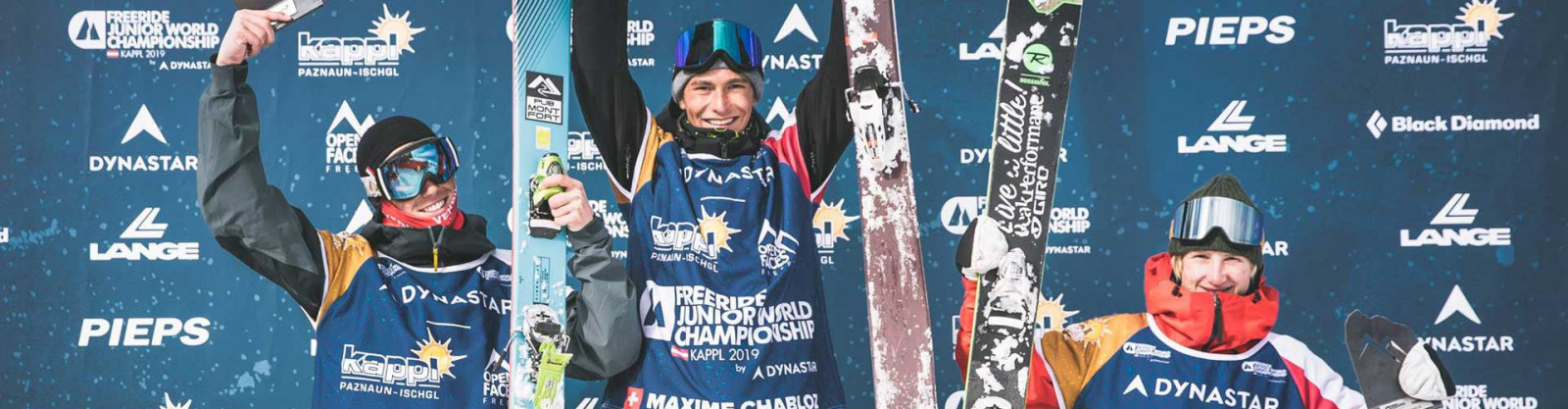 Freeride Junior World Championships - the future is assured with Max Palm !